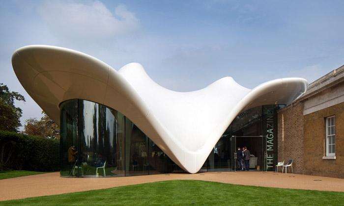 Zaha Hadid oživila novou Serpentine Sackler Gallery