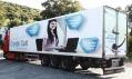 Ukázka reklamních kamionů AdTrucks