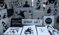 Banksy a jeho díla v ulicích města New York