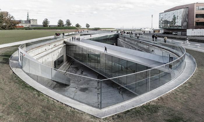 BIG otevřeli Dánské námořní muzeum vlodním doku