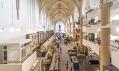 Kostel Broerenkerk veměstě Zwolle přestavěný naknihkupectví Waanders In de Broeren