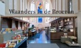 Kostel Broerenkerk ve městě Zwolle přestavěný na knihkupectví Waanders In de Broeren