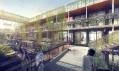 Projekt bydlení pro studenty v kontejnerech Eba51 © Holzer Kobler Architekturen GmbH