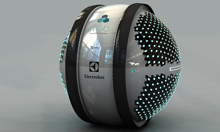 Design Lab 2013 vyhrál koncept čistících robotů