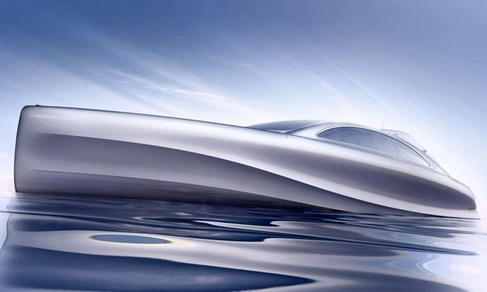 Mercedes aSilver Arrows navrhli jachtu Arrow460