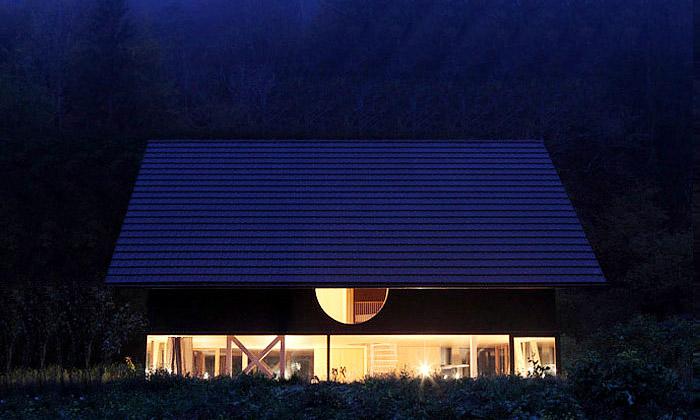 Nedaleko Basileje vyrostl dům vjaponském stylu