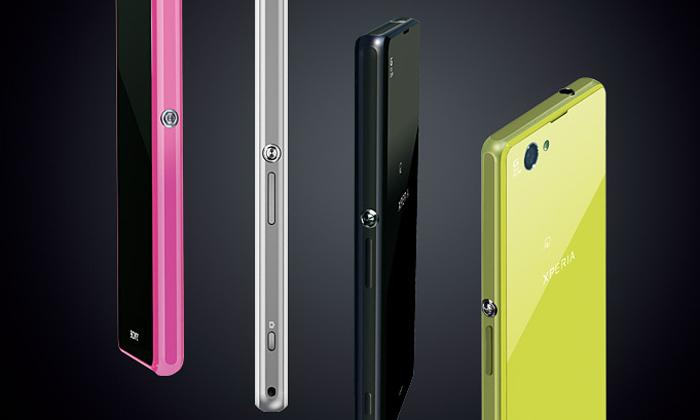 Sony uvádí stylový avýkonný mini mobil Xperia Z1 f