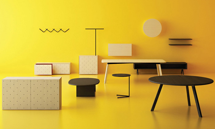 Ulč Furniture má minimalistický nábytek odMütanta