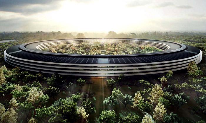 Apple představil finální podobu svého nového sídla