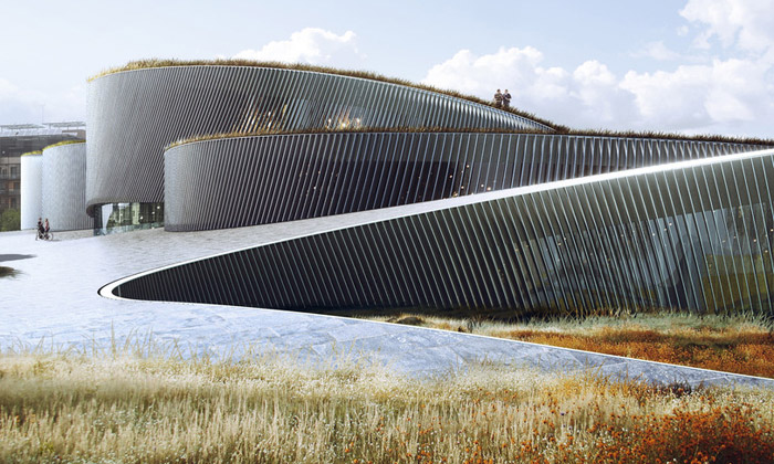 BIG postaví Muzeum lidského těla jako spojené ruce