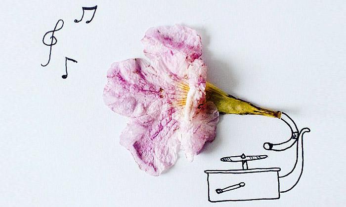 Javier Pérez kombinuje kresby sběžnými předměty