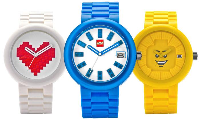 Lego uvádí hodinky pro dospělé stématem kostek