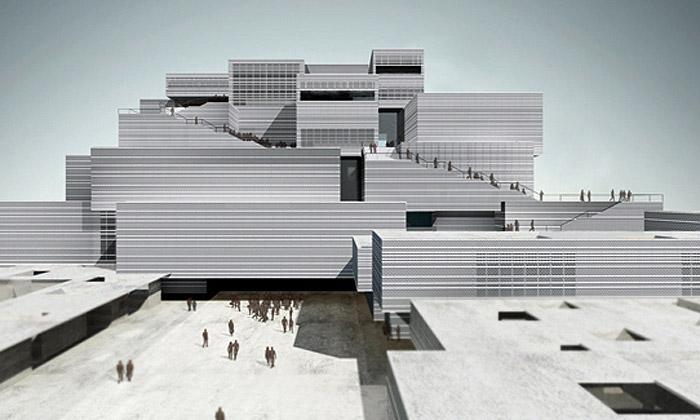 Herzog & de Meuron staví vIndii muzeum KMOMA