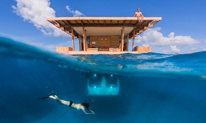 The Manta Resort otevírá podmořský pokoj uAfriky