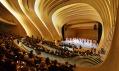 Zaha Hadid a její Heydar Aliyev Centre v Baku v Ázerbájdžánu na fotkách od Hufton + Crow