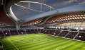 Stadion v Kataru na Mistrovství světa ve fotbale od Zahy Hadid a AECOM