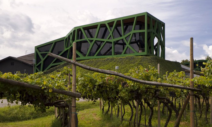Výstava vGJF ukazuje spojení architektury avína