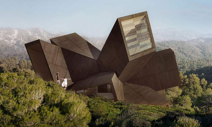 Solo Houses jsou extravagantní domy jen krekreaci