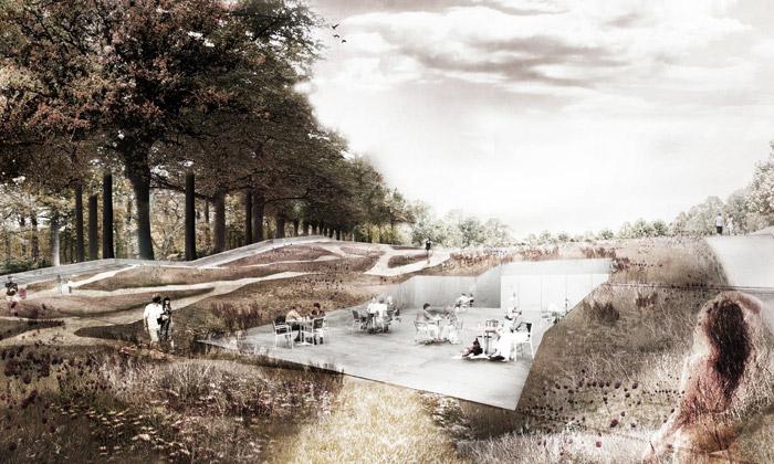 Varšava postaví park budoucnosti spodzemní galerií