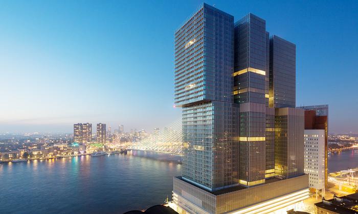 OMA postavila De Rotterdam jako vertikální město