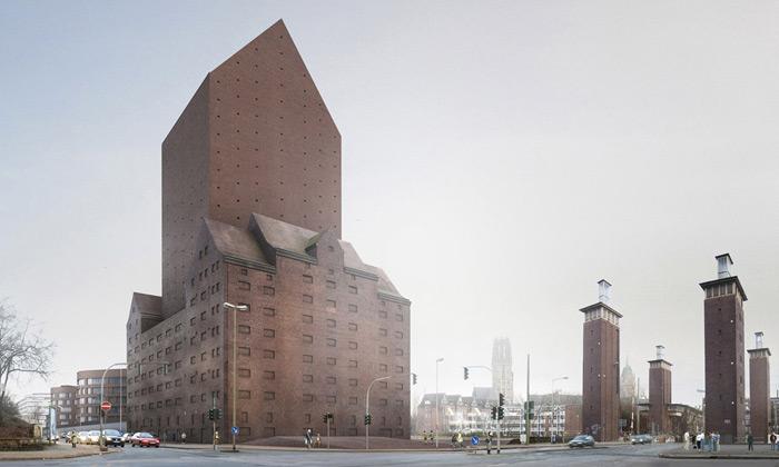 Německo si postavilo národní archiv podobný hradu