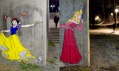 Herr Nilsson a jeho streetartová tvorba nejen s Disneyho postavičkami