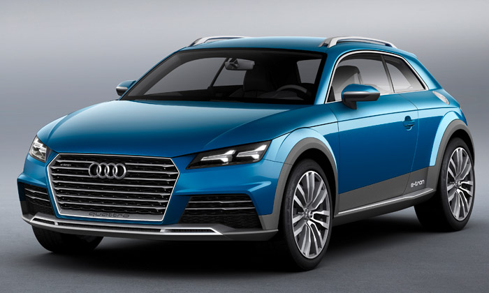 Audi představilo crossover Allroad Shooting Brake