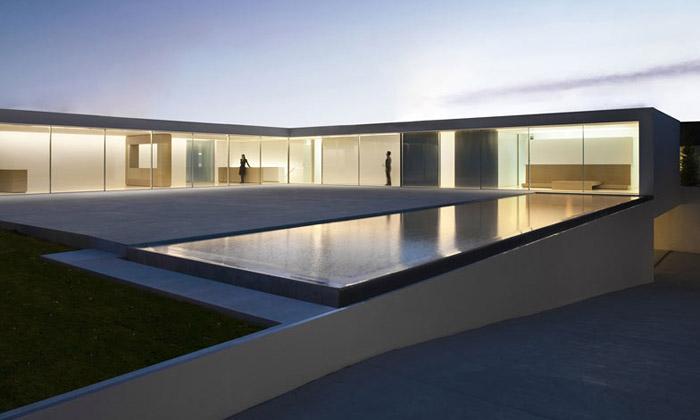 Casa del Atrio jeesencí minimalistického designu