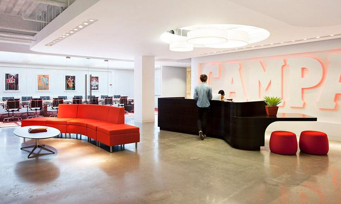 Americká pobočka Campari má kanceláře isbarem