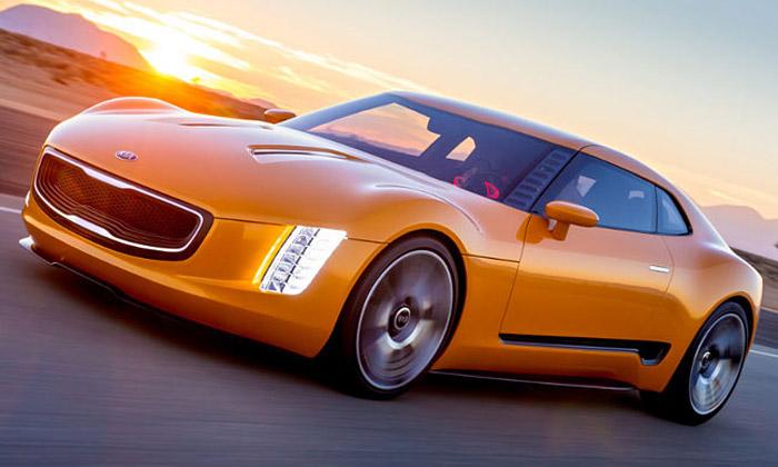 Kia ukázala koncept sportovního kupé GT4 Stinger