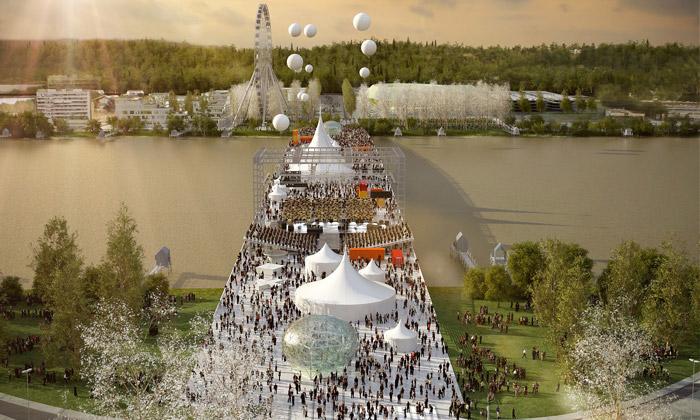 OMA postaví veFrancii unikátní multifunkční most
