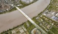 Most Pont Jean-Jacques Bosc od studia OMA
