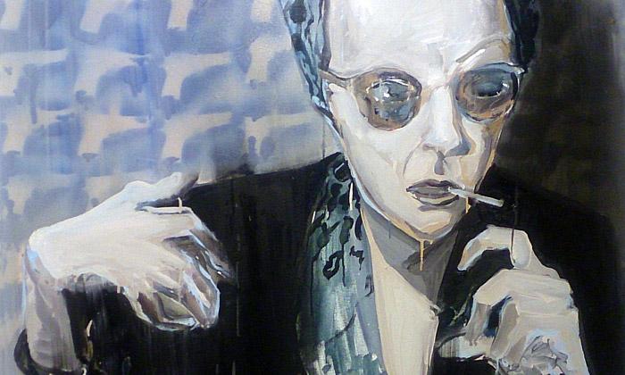 Tomáš Jetela vystavil děsivé obrazy natéma Warhol
