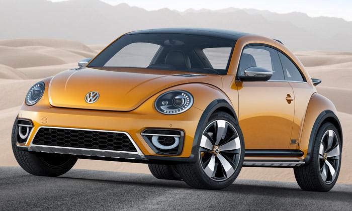 Volkswagen představil sportovní verzi Beetle Dune