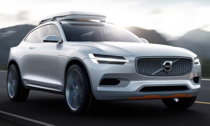 Volvo odhalilo SUV nové generace Concept XC Coupé