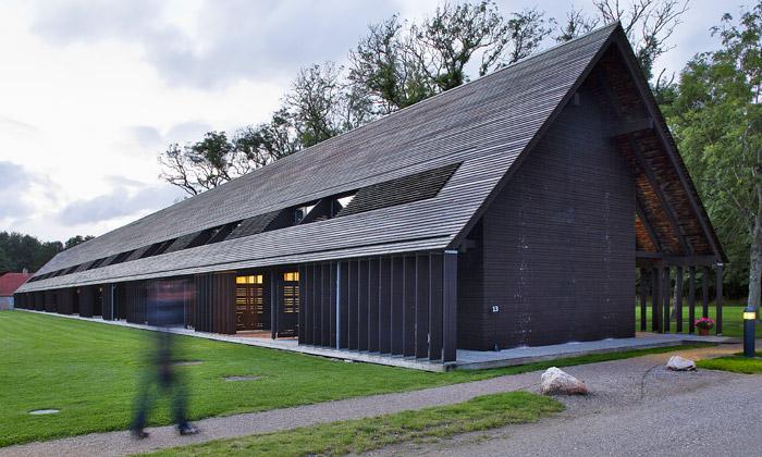 Arkitema postavila nazámku hotel včerné stodole