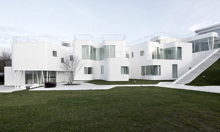 Bílá vila Casa Vješpanělská variace naart deco