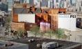 MoMA PS1 a jeho věže Hy-Fi od The Living