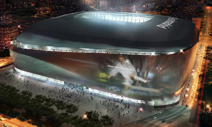 Real Madrid si přestaví stadion Santiago Bernabéu
