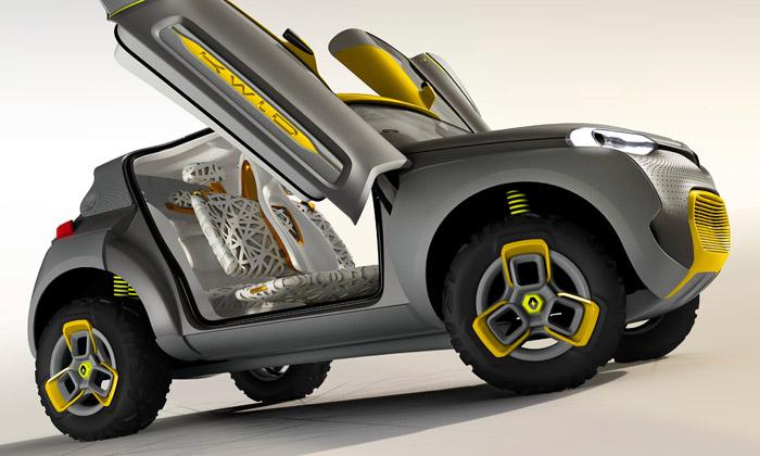 Renault vybavil crossover Kwid malým vrtulníkem