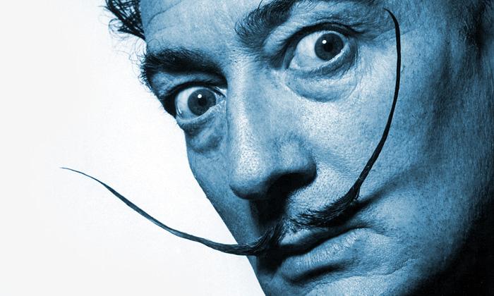 Německo vystavuje grafiky ifotky Salvadora Dalího