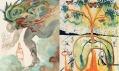 Ukázka děl Salvadora Dalího vystavených v Kuns(t)räume