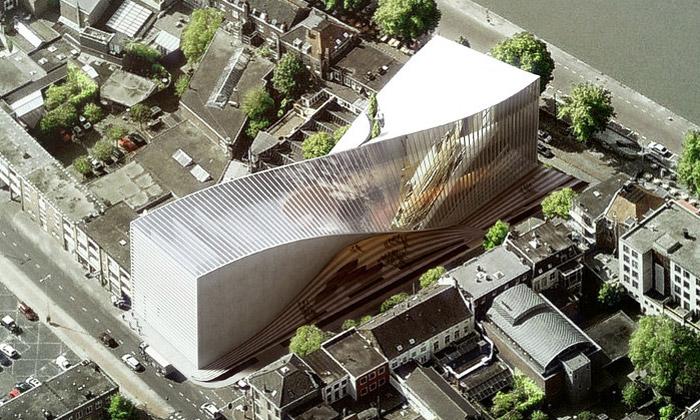 BIG navrhli překroucený Art Cluster pro Arnhem