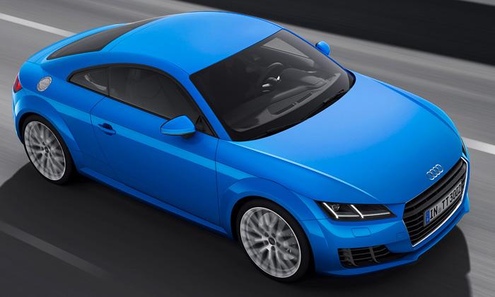 Audi TT dostalo modernější design snovou maskou