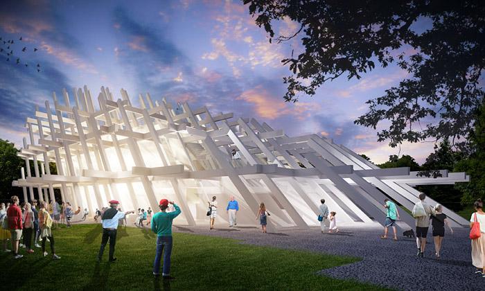 Futuristický pavilon odJ. Mayer H. ozdobí Karlsruhe