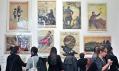 Pohled do výstavy Plakát v souboji ideologií 1914–2014 v DOXu