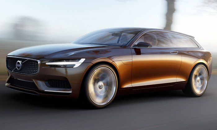 Volvo Concept Estate je futuristický Shooting Brake