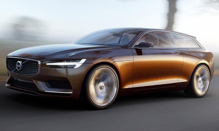 Volvo Concept Estate jefuturistický Shooting Brake