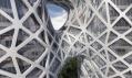 Zaha Hadid ajejí City of Dreams Hotel Tower vMacao
