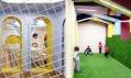 Dětský koutek ve fitness centru Kalorias